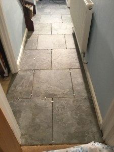 Halway tiling