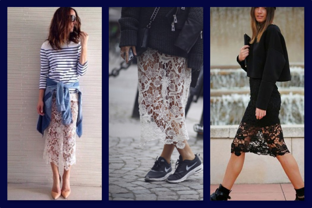 skirts, lace-nike-trainers-those-london-chicks
