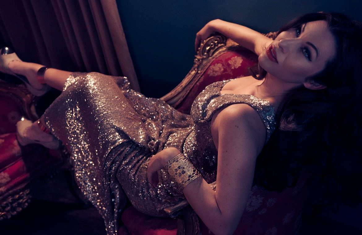 immodesty-blaize-photo-by-luc-coiffait-article-for-thoselondonchicks-interview-chaise-lounge-sparkly-dress