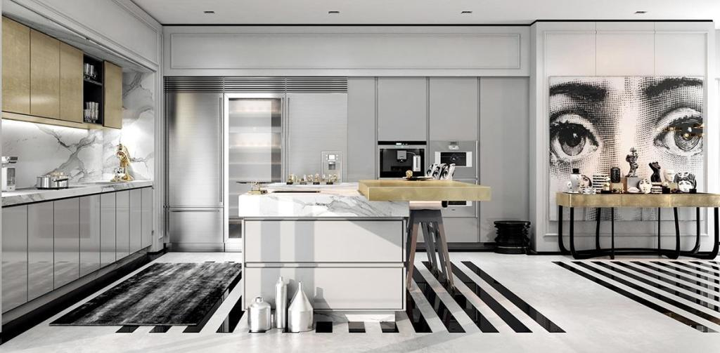 A Modern Art Deco Home Visualized In Two Styles: Art Deco Bring Glitz And Glamour Into Your Home