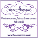 Those Memories Sticker