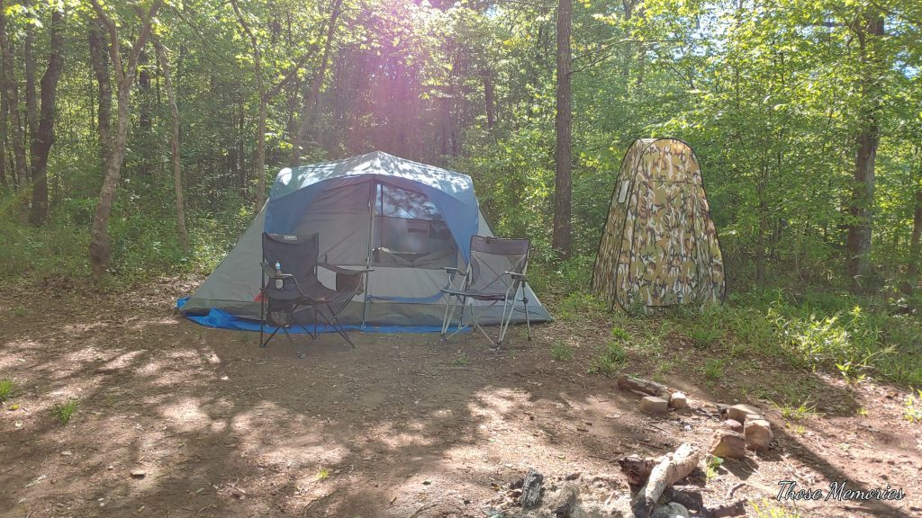 Camping at Twin Bridges
