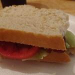 Bacon Lettuce and Tomato sandwich