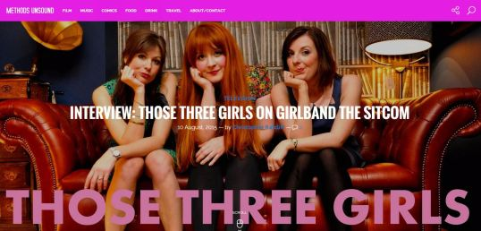 Those Three Girls Methods Unsound Interview