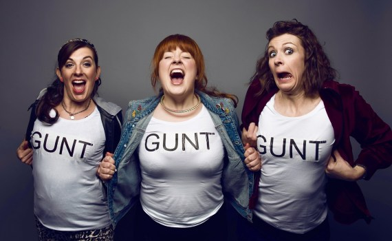 THOSE THREE GIRLS, GIRLBAND, THOSE THREE GIRLS, COMEDY WRITER-PERFORMERS, LUCY BARNETT, CARLY SHEPPARD, SUSANNAH ADELE