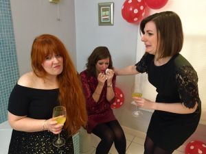 THOSE THREE GIRLS, COMEDY WRITER-PERFORMERS, LUCY BARNETT, CARLY SHEPPARD, SUSANNAH ADELE