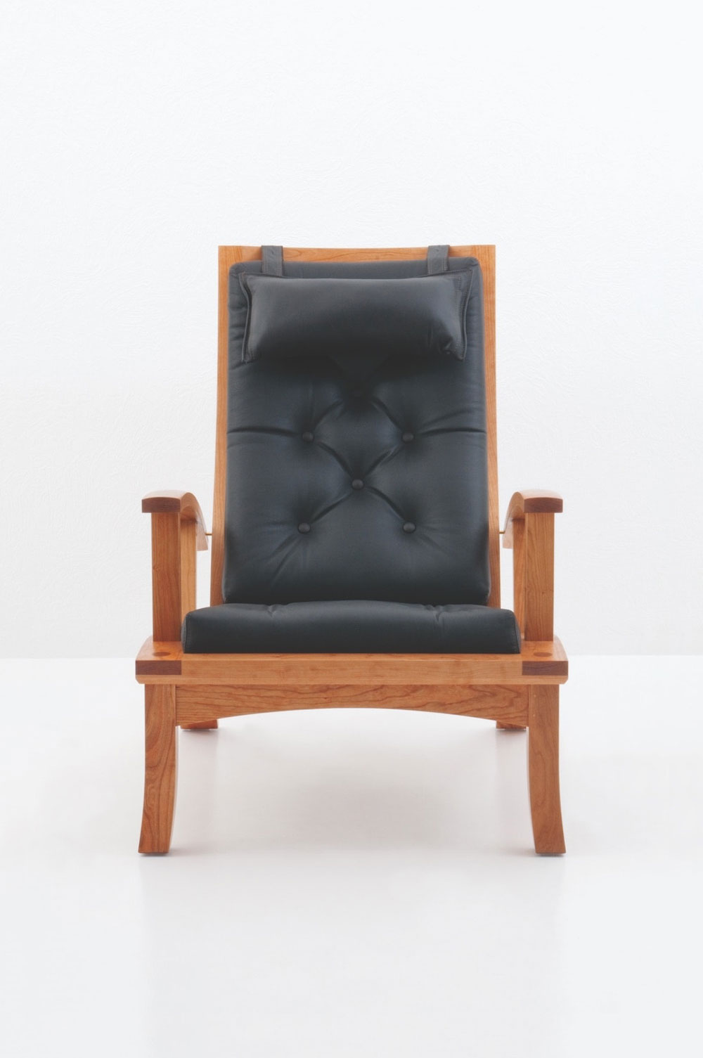 Wood Club Chair Lolling Chair
