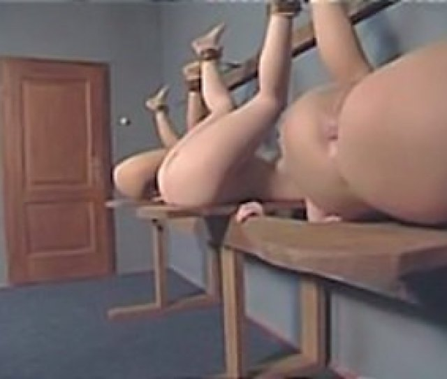 Naughty Schoolgirls Pack Up For Their Ass Spanking Punishment