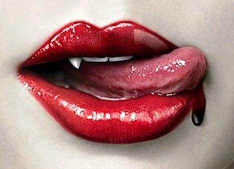 Mulher-Vampiralábios