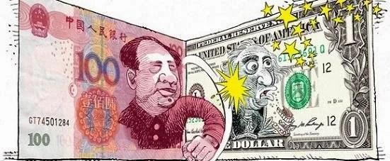dolar X yuan