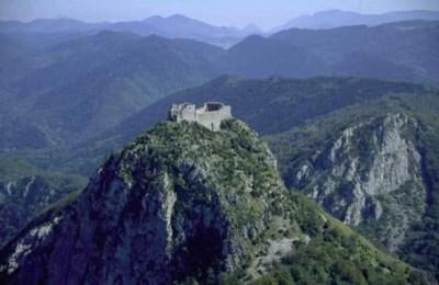 Montsegur-Cathar-Castle