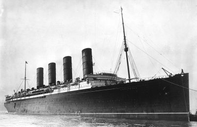 RMS_Lusitania_New_York_EUA-1907