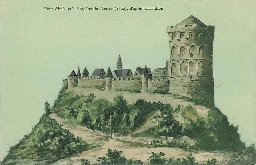 Mont_Aimé_en_1422_d'après_la_gravure_de_Chastillon