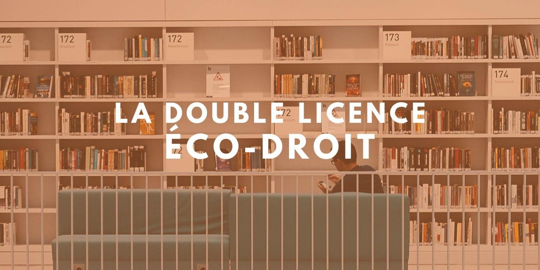 double licence droit economie