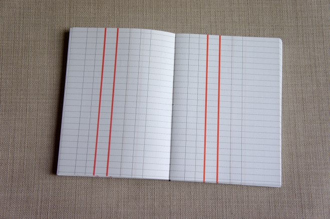 Log book layout