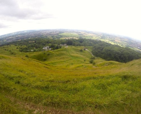 Coltswold Way Cleeve Hill Cheltenham The Thought Card