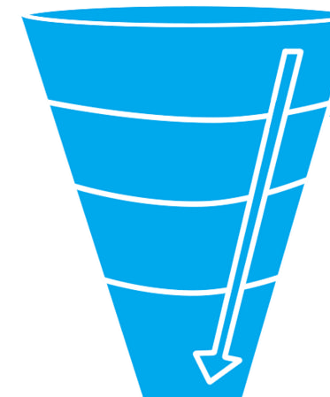 To the bottom of the marketing funnel