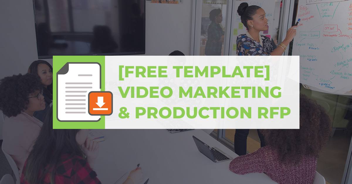 video marketing marketing video production rfp free template