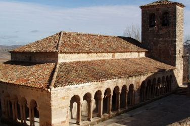 romanesque architecture church spain medieval salvador carabias