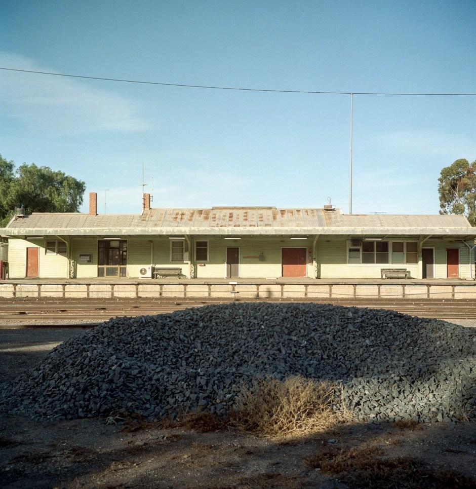 railway station, Ouyen