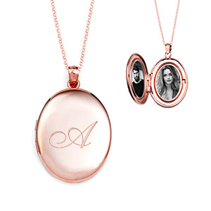brianna rose gold personalized