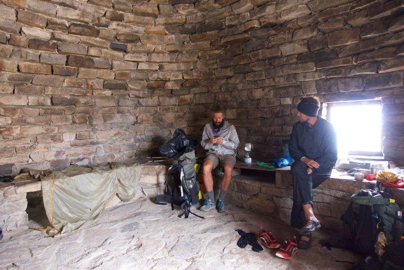 Friz & Chops in the Muir Hut