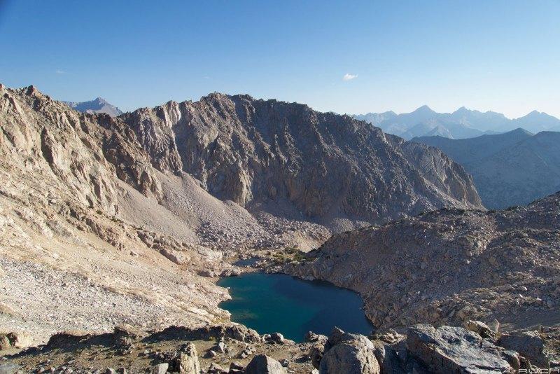 Top of Glen Pass