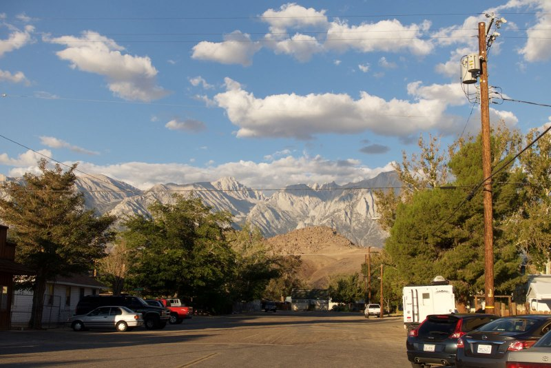 Mt Whitney from Lone Pine