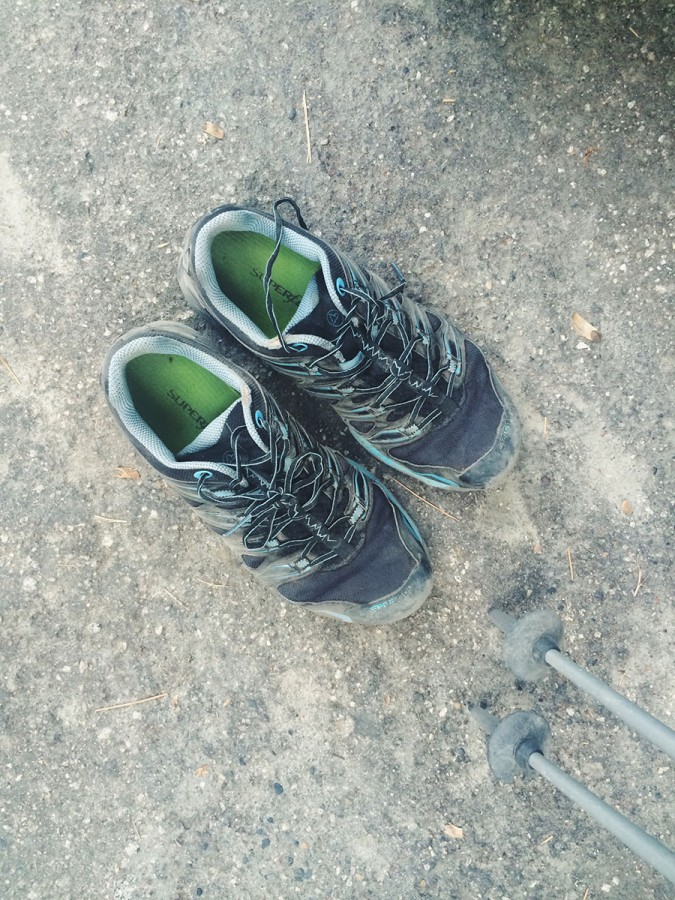 Gratitude for my La Sportiva Ultra Raptors that held up quite well over 224 miles.