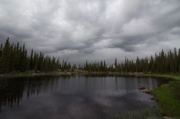 Eaglesmere Lake - Stormy
