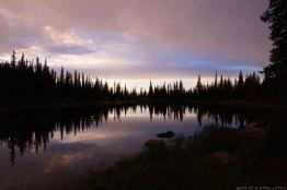 Eaglesmere Lake - Sunset