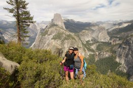 Caitlin & Me with Half Dome behind us