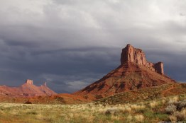 Outside of Moab