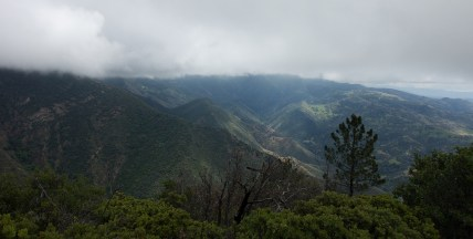 Looking south toward Figueroa Mountain and the San Rafael Mountains