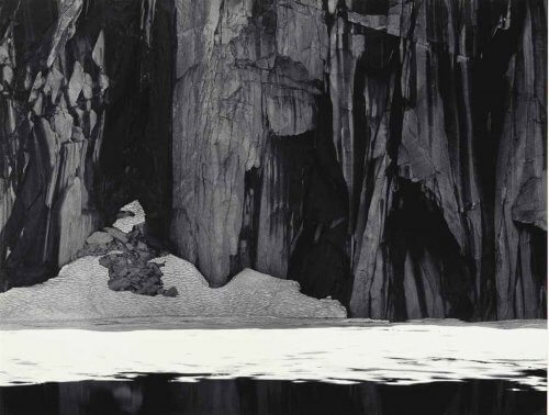Lake Precipice, 'Frozen Lake and Cliffs', Kaweah Gap, Sierra Nevada, 1932