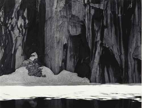 Lake Precipice, 'Frozen Lake and Cliffs', Kaweah Gap, Sierra Nevada, 1932