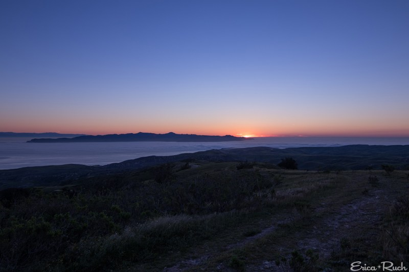 Dawn from Black Mountain, Santa Rosa Island