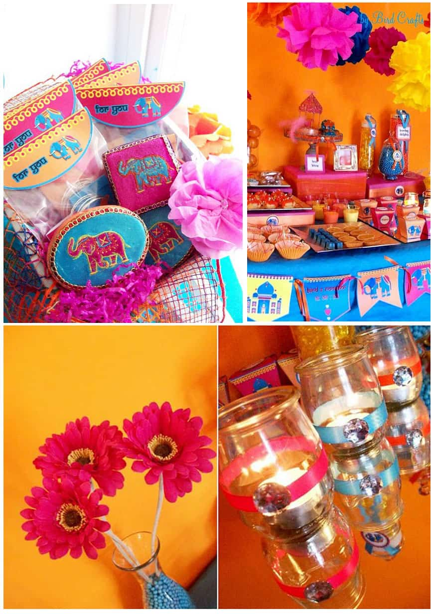 A Creative Project Bollywood Themed Party Decor