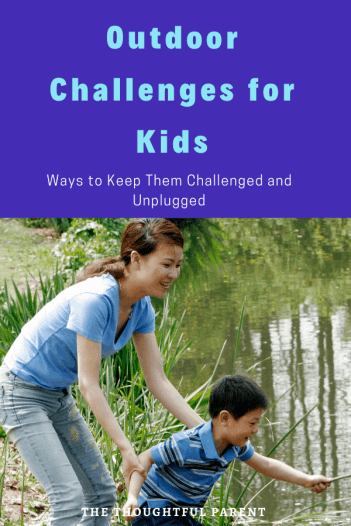 outdoor challenges for kids