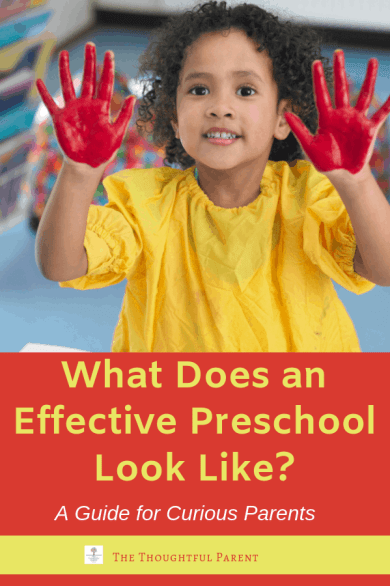 what to look for in a preschool