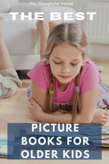 picture books for older students