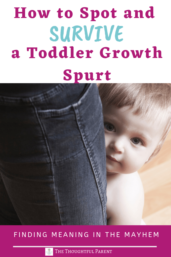 toddler growth spurt timeline