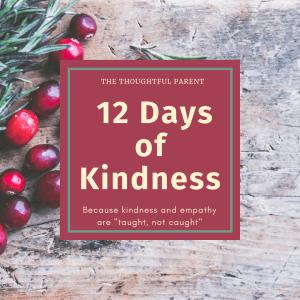 12 days of kindness