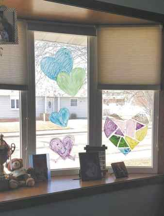 window decorations during social distancing