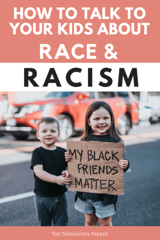 talking to kids about racism