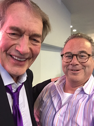 Charlie Rose And Peter Winick