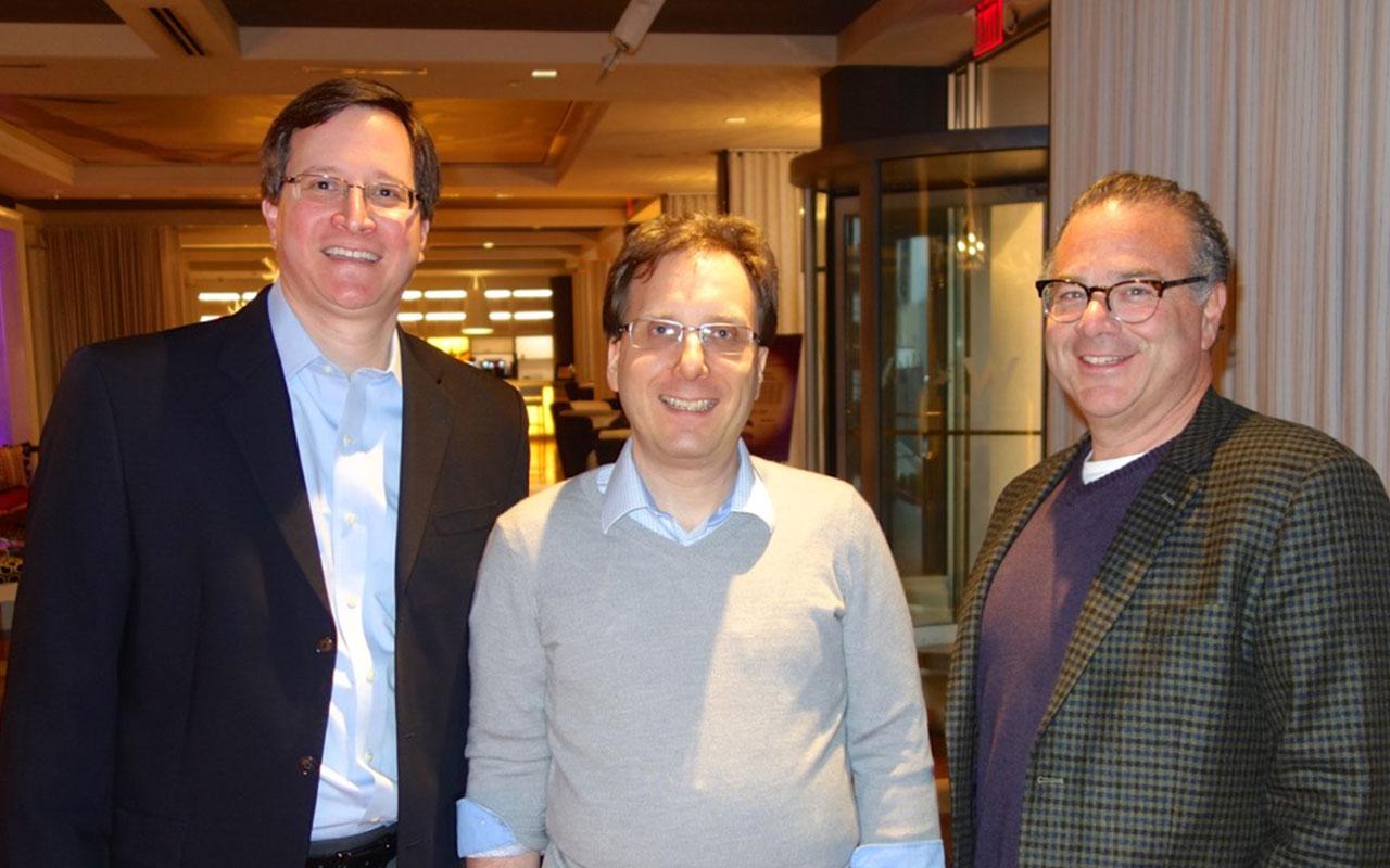 Pete Weissman, Bill Sherman, and Peter Winick