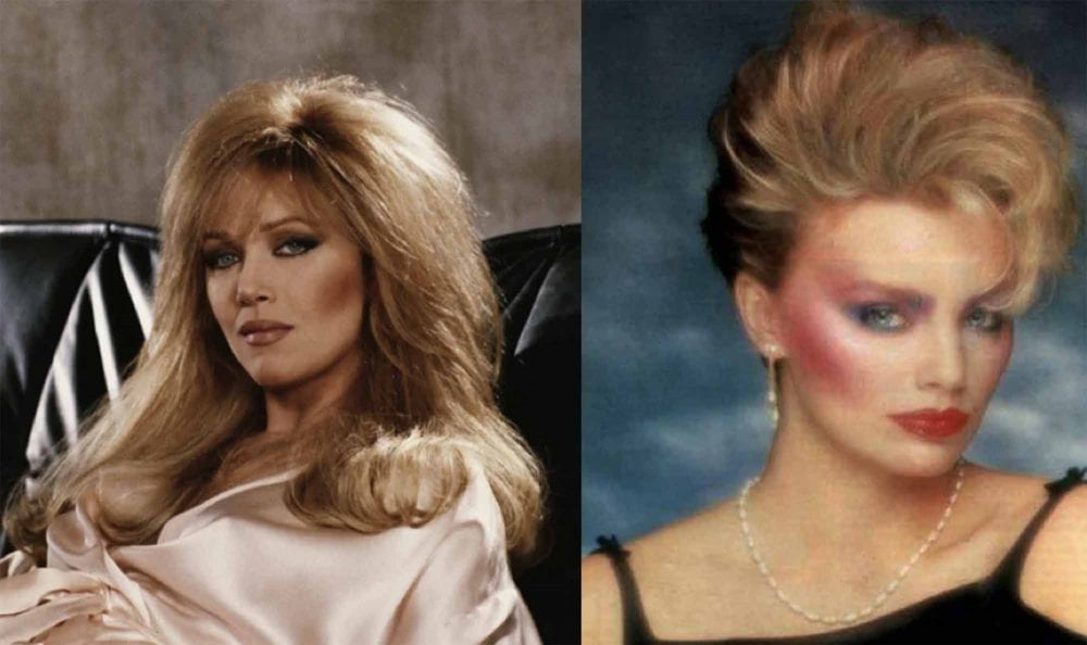 11 ridiculous hair and makeup trends from the '80s