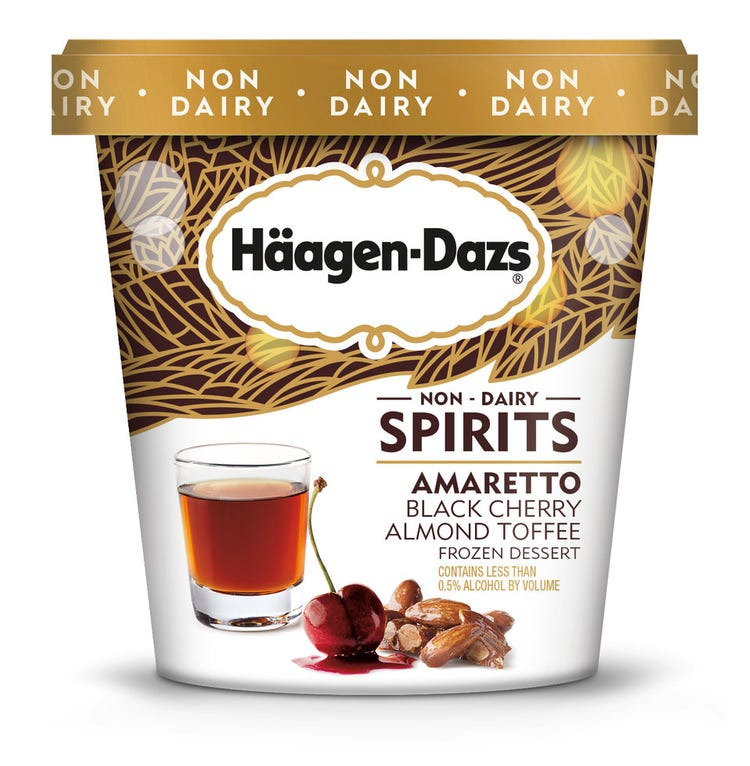 Häagen-Dazs Unveils Brand New Alcoholic Ice Cream