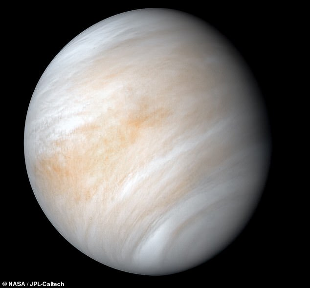 traces of gas that may be coming from microbes found in venus' clouds